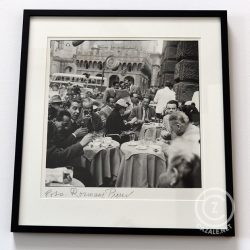 Rosmarie Pierer, Padua 1954, 34,5 x 34,5 cm, signiert, gerahmt