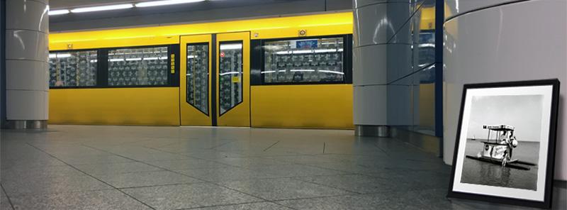 Der Badeausflug, 1952, Rosmarie Pierer - U-Bahn Adenauerplatz