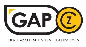 Der GAP-Schattenfugenrahmen von CAZALE