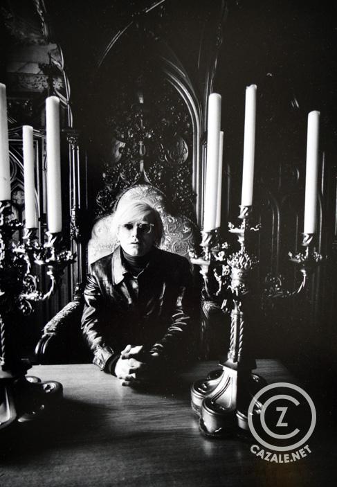 ANDY WARHOL auf Schloss Neuschwanstein</span> | 1971, Kurt Will