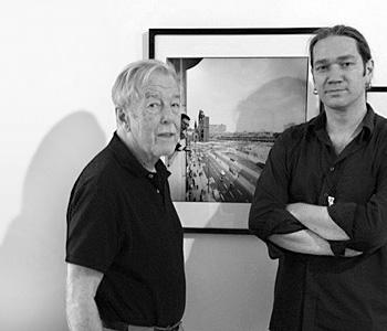 Oliver Zimmer mit Peter Brüchmann (2009)