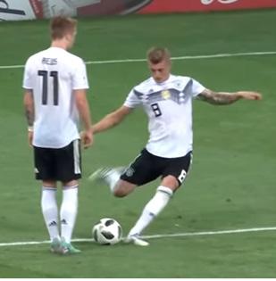 Toni Kroos 95ste Minute Deutschland vs. Schweden