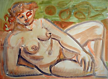 Alle Werke des Malers Edvard Frank bei CAZALE!