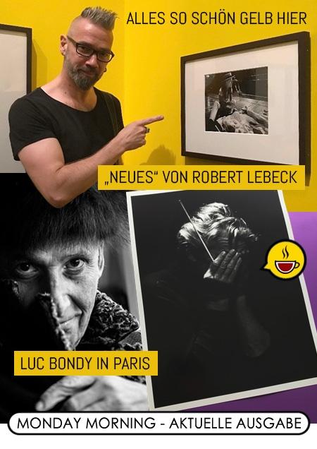 """Alles so schön gelb hier! / """"Neues"""" von Robert Lebeck (PAC) / Luc Bondy in Paris"""