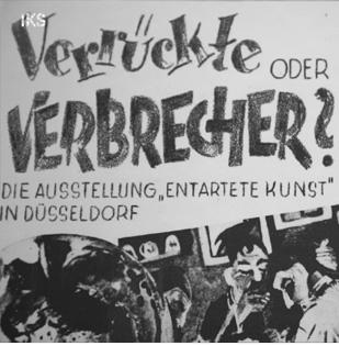 SPOT ON: 1937. Die Aktion Entartete Kunst in Düsseldorf